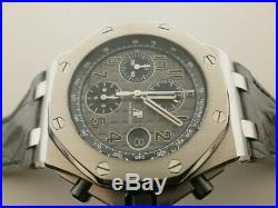 Audemars Piguet Royal Oak Offshore Elephant 26470ST S/S 42MM Dial
