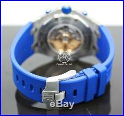 Audemars Piguet Royal Oak Offshore INDIGO Blue Chrono 26470ST. OO. A030CA. 01 NEW