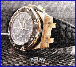 Audemars Piguet Royal Oak Offshore Montoya 18k Rose Gold Limited Edition Nib
