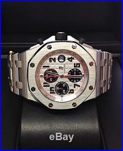 Audemars Piguet Royal Oak Offshore Panda Dial 26170ST. OO. 1000ST. 01 B&P 2013