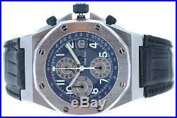 Audemars Piguet Royal Oak Offshore Rare Midnight Blue 25770ST 42mm Box & Papers