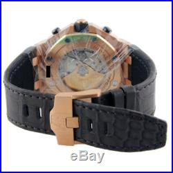 Audemars Piguet Royal Oak Offshore Rose Gold 42mm Chronograph 26470or Strap