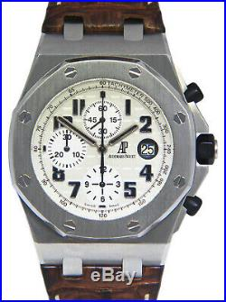 Audemars Piguet Royal Oak Offshore Safari Chronograph Watch Box/Papers 26170ST