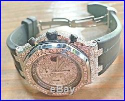 Audemars Piguet Royal Oak Offshore Stainless Steel Diamond Dial/Lugs Swiss Made