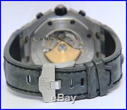 Audemars Piguet Royal Oak Offshore Steel Chronograph ELEPHANT Box/Papers 26470ST