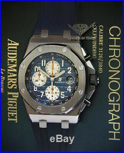 Audemars Piguet Royal Oak Offshore Steel Navy Blue Watch 26470ST. OO. A027CA. 01