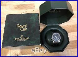 Audemars Piguet Royal Oak Offshore Triple Calendar Stainless Steel Watch 25807ST