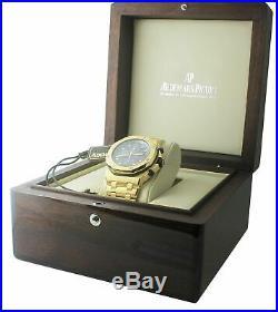 Audemars Piguet Royal Oak Offshore Yellow Gold Blue 42mm 25721BA. OO. 1000BA. 02. A