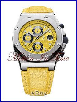 Audemars Piguet Royal Oak Offshore Yellow Themes Rare Chrono25770ST. OO. D050BU. 02