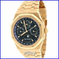 Audemars Piguet Royal Oak Quantieme Perpetual Calendar 41MM 18K Rose Gold Watch