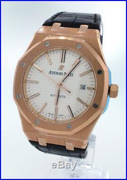 Audemars Piguet Royal Oak Rose Gold Automatic 41mm 15400or. Oo. D088cr. 01