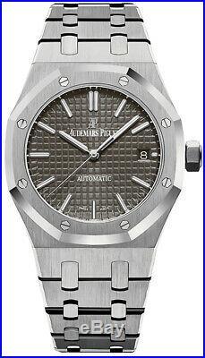 Audemars Piguet Royal Oak Stainless Steel 37mm Grey Dial 15450ST. OO. 1256ST. 02