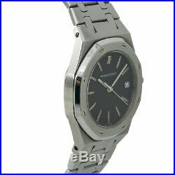 Audemars Piguet Royal Oak Vintage Quartz Watch Stainless Steel Grey Dial 34mm