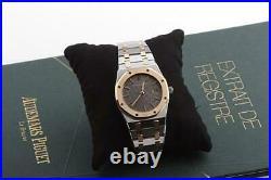 Audemars Piguet Royal Oak v. 1991 neuwertig Überholung Stammbuchauszug 56175S