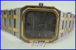 Audemars Piguet Square Royal Oak 18k & Stainless Steel B Series Dates 1970's