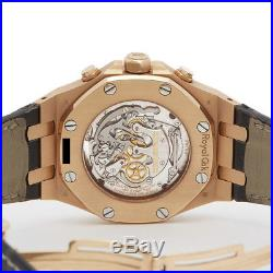 Audemars Piguet XL Tourbillon Chronograph Royal Oak Watch Com881