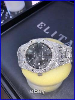 Audemars Royal Oak 15400 Custom Diamond Watch