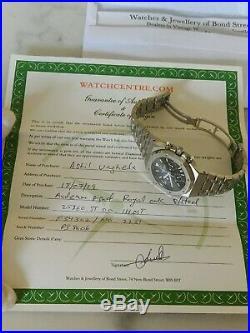 Audemars piguet royal oak chronograph 25860st First Series Kasparov