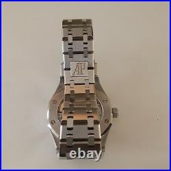 Box Papers Audemars Piguet Royal Oak 37 mm Steel Grey Watch 15450ST001256ST02