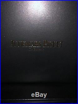 Brand New Audemars Piguet Royal Oak Watch Box AND VIP Customer AP Bracelet