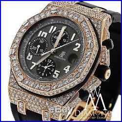 Diamond Audemars Piguet Royal Oak Offshore Chronograph Rose Gold Watch