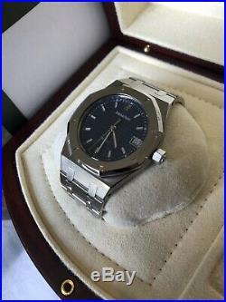 FULL SET Audemars Piguet Royal Oak Steel Box Papers Links UK Watch 14790ST