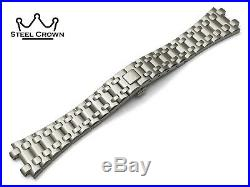 For AUDEMARS PIGUET Watch St Steel Bracelet Strap Silver ROYAL OAK Offshore