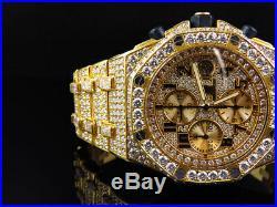 Herren 42 mm Audemars Piguet Royal Oak Offshore 18k Gelb Gold mit 38