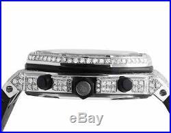 Herren 42 mm Audemars Piguet Royal Oak Offshore Gummi mit 10.5 Karat Vs Diamant