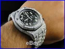 Herren Ice aus Audemars Piguet Royal Oak Offshore Diamant Armbanduhr 26 Karat