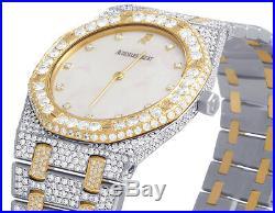 Ladies Audemars Piguet Royal Oak 33MM 18K/Steel Two Tone VS Diamond Watch 22.5Ct