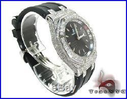 Ladies Diamond Audemars Piguet Royal Oak Watch Round Cut G Color 7.75ct