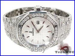 Ladies Women Diamond Special Watch Audemars Piguet Royal Oak Full 11.75ct