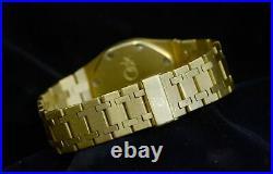 Men's Audemars Piguet Royal Oak 18K Yellow Gold watch withDate
