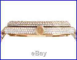 Mens 41 MM Audemars Piguet Royal Oak 18k Rose Gold with VS diamond (31.25 Ct)