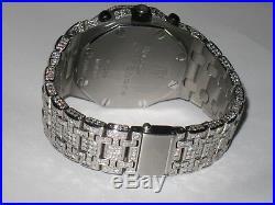 Mens Audemars Piguet Royal Oak Offshore Chronograph Diamonds Everywhere