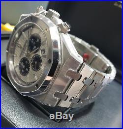 NEW Audemars Piguet Royal Oak 41mm Chronograph Panda Watch 26331ST. OO. 1220ST. 03