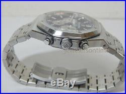 New AP Audemars Piguet 26331 blue dial Royal Oak chronograph box/papers 41mm
