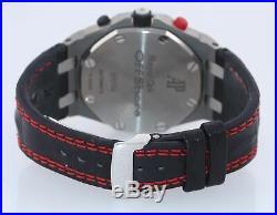 PAPERS Audemars Piguet Royal Oak Offshore Grey 26170TI Titanium Watch Box