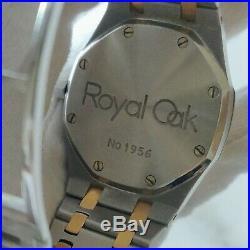Stunning Audemars Piguet 37mm royal oak 25594SA Day-Date Moonphase