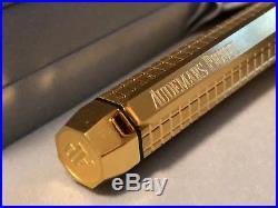 TWO (2) BRAND NEW Audemars Piquet Royal Oak Ballpoint Pen Gold -PRICED TO SELL