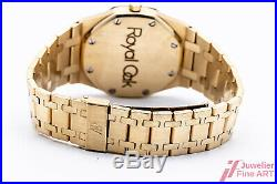 Uhr Audemars Piguet Royal Oak Ref. 4100BA Gelbgold 36 mm Revision 2018 Herst