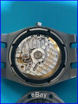 Vintage Mens Audemars Piguet Royal Oak 4100ST 36mm Silver Dial Watch